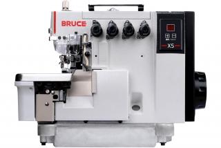 BRUCE BRC-X5-4-M03 / 333 - 2-jehlový overlockový šicí stroj