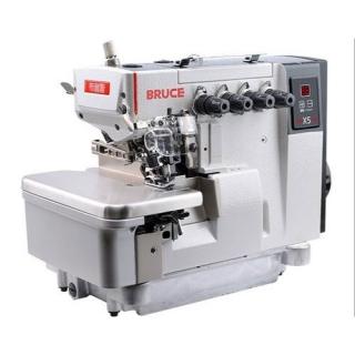 BRUCE BRC-X5-5-03 / 333 - 2-jehlový overlockový 5-nitkový šicí stroj